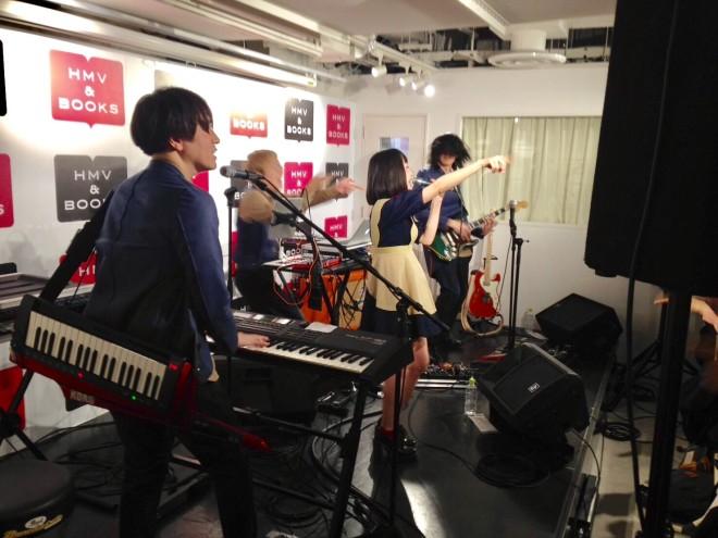 2017 1/26 リリイベ at HMV渋谷店