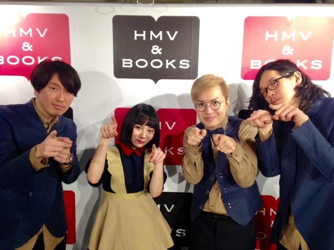 2017 1/26 リリイベ後 at HMV渋谷店