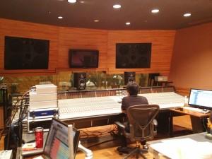 レコーディング・スタジオの様子